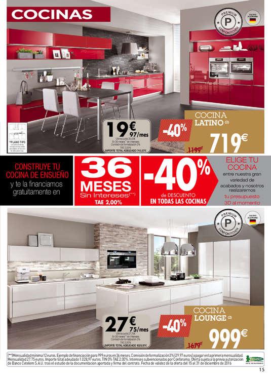 Comprar muebles de cocina barato en zaragoza ofertia Oferta muebles cocina