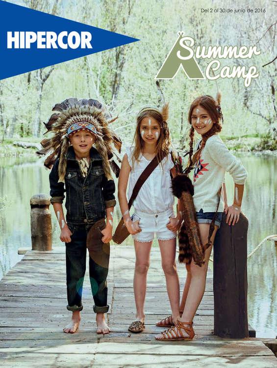 Ofertas de Hipercor, Summer Camp