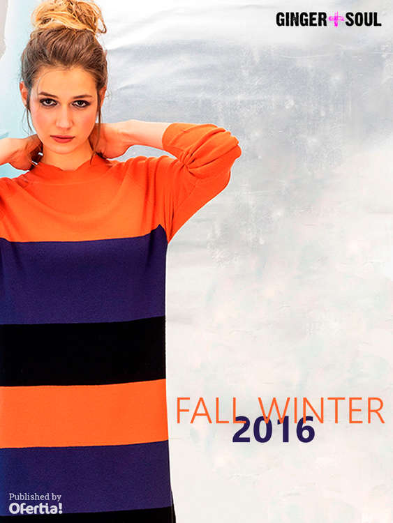 Ofertas de Ginger+Soul, Fall Winter 2016