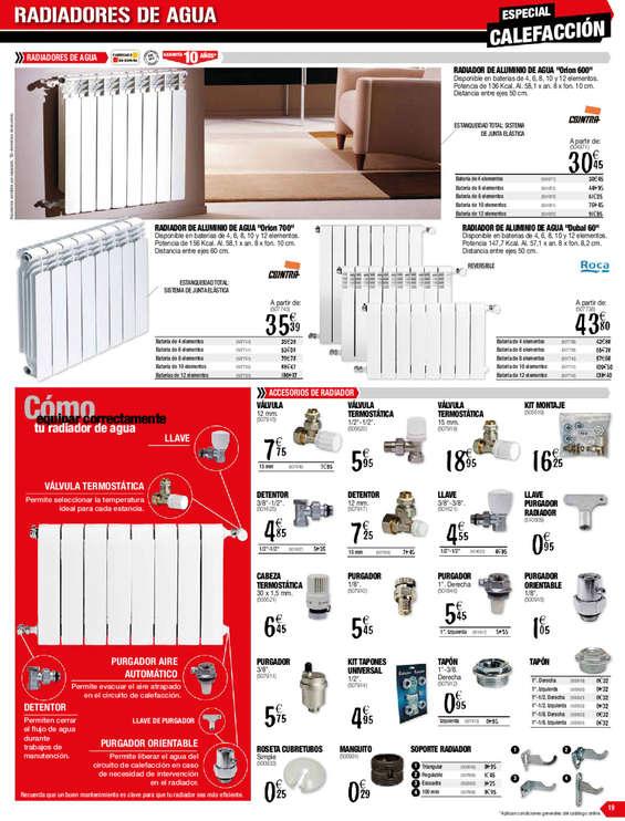 Comprar radiadores de aluminio barato en madrid ofertia - Radiadores de agua baratos ...