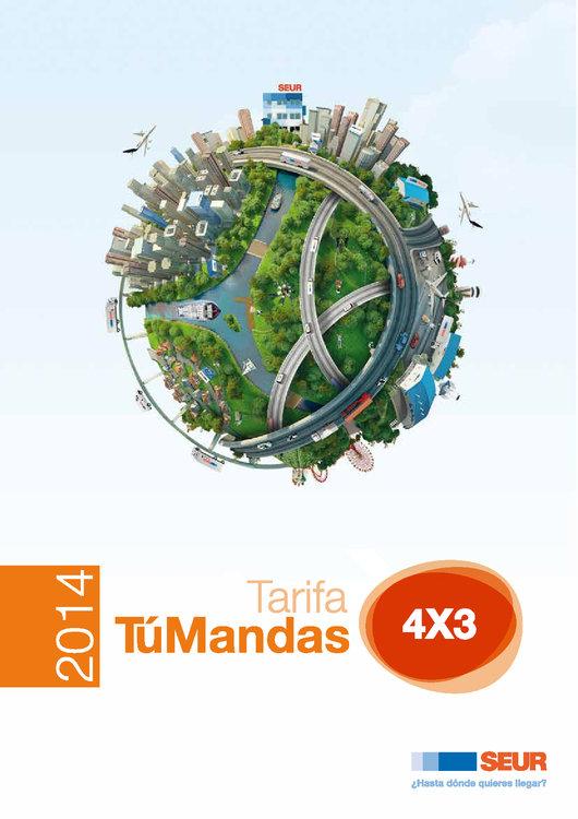 Ofertas de SEUR, Tarifa Tú Mandas 4x3