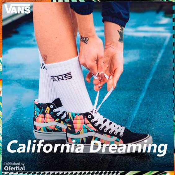 Ofertas de Vans, California Dreaming