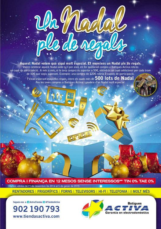 Ofertas de Activa Hogar, Un Nadal ple de regals