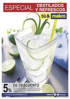 Ofertas de Makro, Especial destilados y refrescos