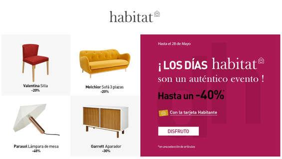 Ofertas de Habitat, oferta