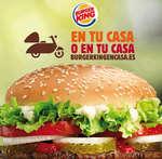 Ofertas de Burger King, En tu casa o en tu casa