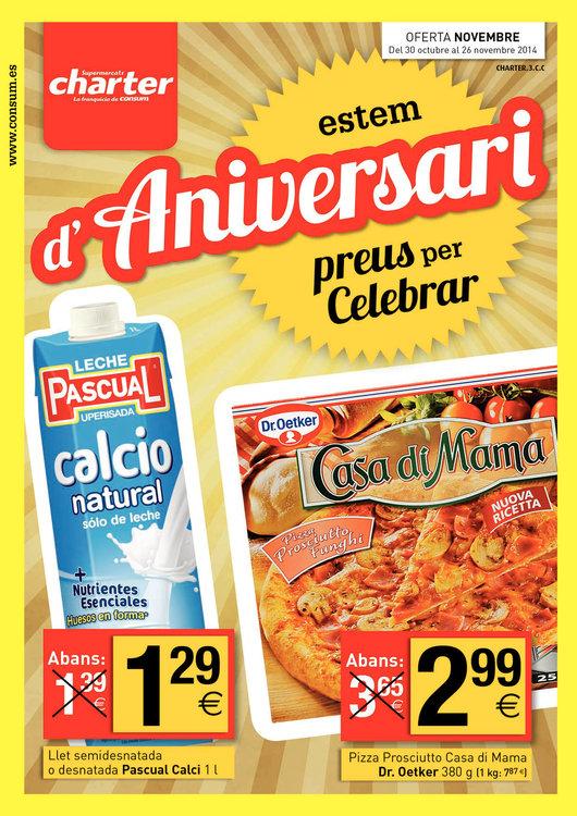 Ofertas de Supermercados Charter, Estem d'Aniversari