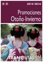 Ofertas de Transrutas, Otoño Invierno 2015 - 16