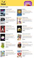 Ofertas de Librerías Nobel, Ideas para regalar