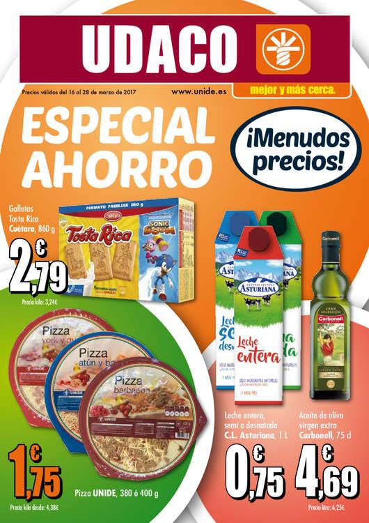 Ofertas de Supermercados Udaco, Especial ahorro