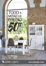 Todo a mitad de precio. -50% - Salamanca