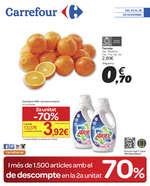Ofertas de Carrefour, 70% de descompte a la 2ª unitat