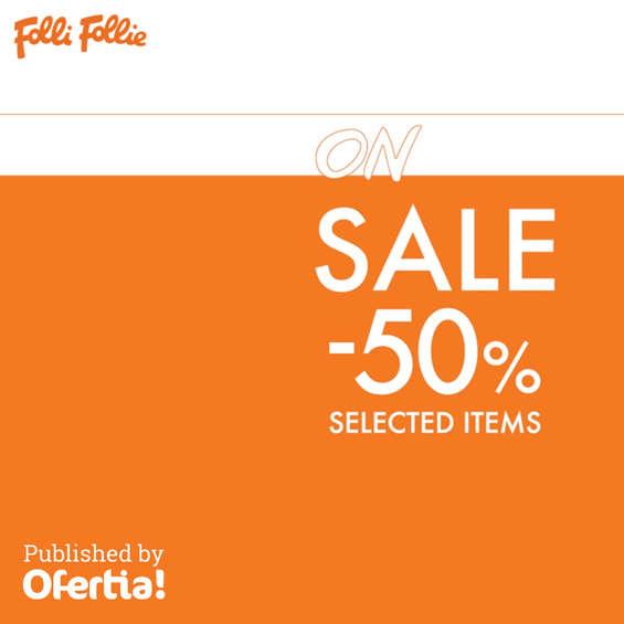 Ofertas de Folli Follie, On sale -50% selected items