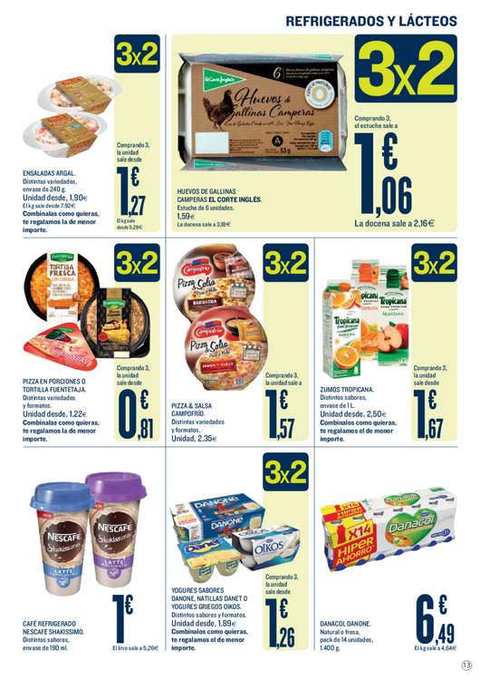 Ofertas de Hipercor, 3x2 en más de 1.500 productos