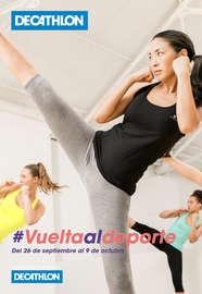 #VueltaAlDeporte