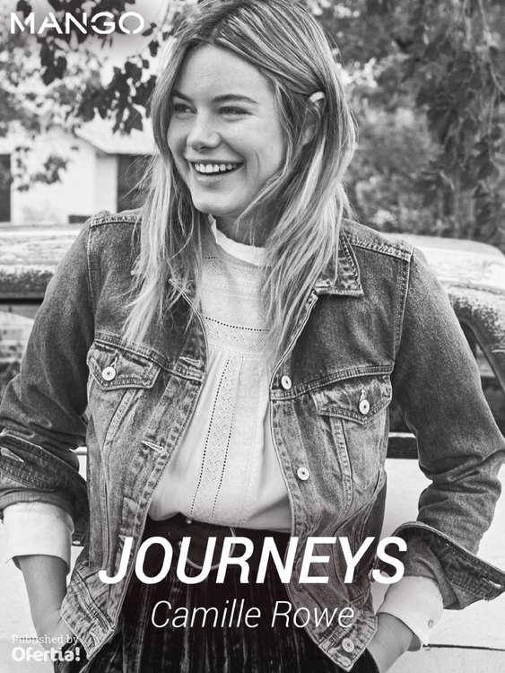 Ofertas de MANGO, Journeys. Camille Rowe