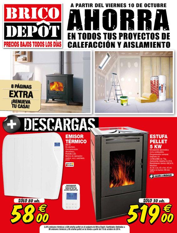 Ofertas de Bricodepot, Ahorra en todos los proyectos de calefacción y aislamiento