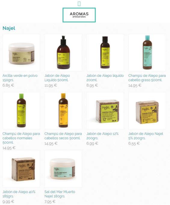 Ofertas de Aromas Artesanales, Cosmética ecológica