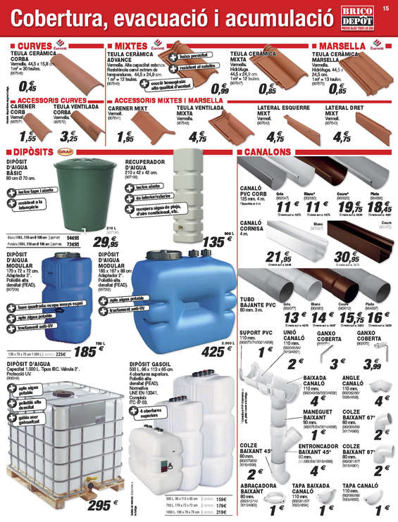 Comprar tubos pvc en barcelona tubos pvc barato en barcelona for Bricodepot granada horario