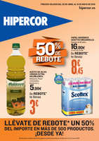 Ofertas de Hipercor, 50% de rebote