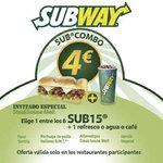 Ofertas de Subway, SubCombo