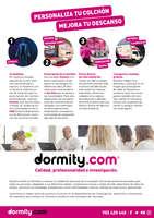 Ofertas de Dormity.com, Personaliza tu colchón, mejora tu descanso