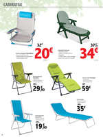 Ofertas de Carrefour, Mobles de jardí