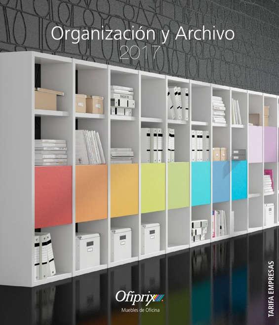 Ofertas de Ofiprix, Organización y archivo 2017