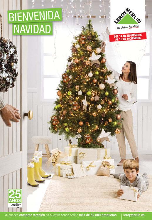 Ofertas de Leroy Merlin, Bienvenida Navidad