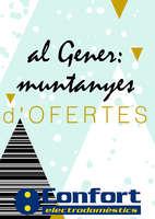 Ofertas de Confort, Al Gener: muntanyes d'ofertes