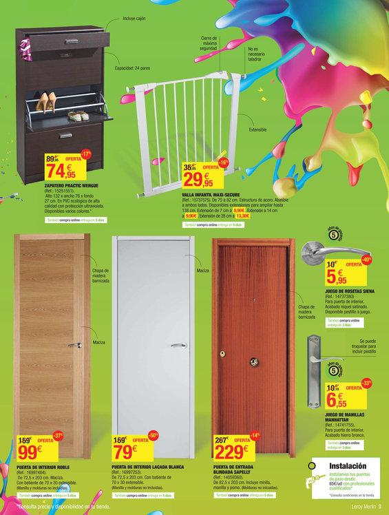 Comprar puertas en m laga puertas barato en m laga for Leroy malaga catalogo