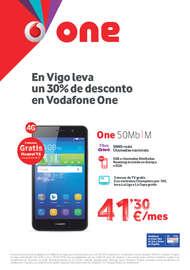 En Vigo leva un 30% de desconto en Vodafone One