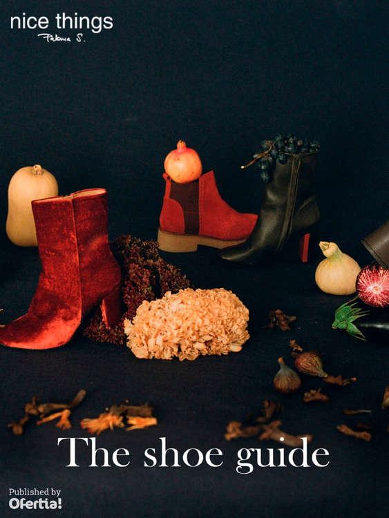Ofertas de Nice Things, The shoe guide