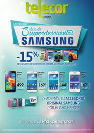 3 Días de superdescuentos Samsung