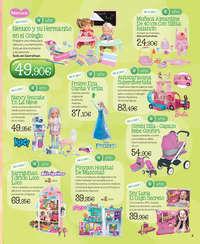 Navidea con los juguetes que cobran vida