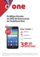 Ofertas de Vodafone, En Mijas,a llévate un 30% de descuento en Vodafone One