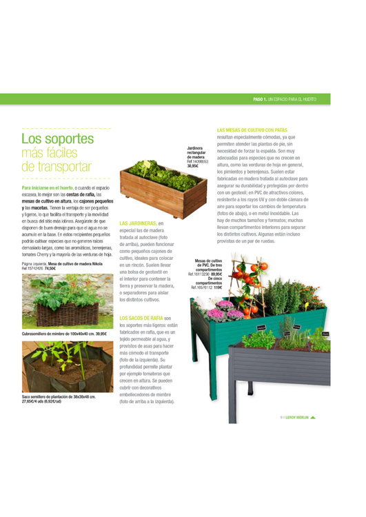 Comprar jardinera en legan s jardinera barato en legan s - Huerto urbano leroy ...
