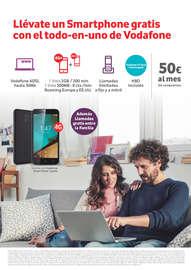 Llévate un Smartphone gratis con el todo-en-uno de Vodafone