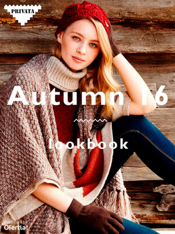 Ofertas de Privata, Autumn 16 Lookbook