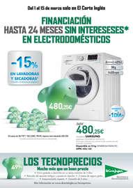-15% en lavadoras y secadoras