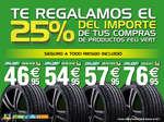 Ofertas de Feu Vert, Te regalamos el 25% del importe de tus compras