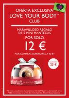 Ofertas de The Body Shop, Oferta Exclusiva Love Your Body