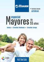 Ofertas de Viajes Ecuador, Especial Mayores de 55 años. Salidas desde Asturias
