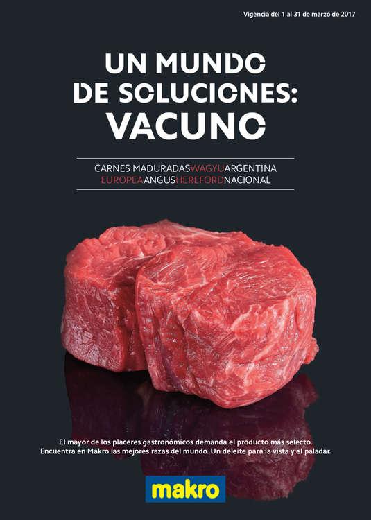Ofertas de Makro, Un mundo de soluciones: vacuno