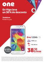Ofertas de Vodafone, En Vigo leva un 30% de desconto