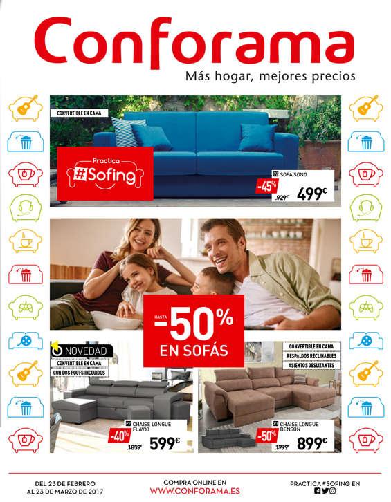 Comprar sof s barato en barcelona ofertia for Conforama barcelona