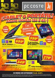 ¿Tablet o Portátil?