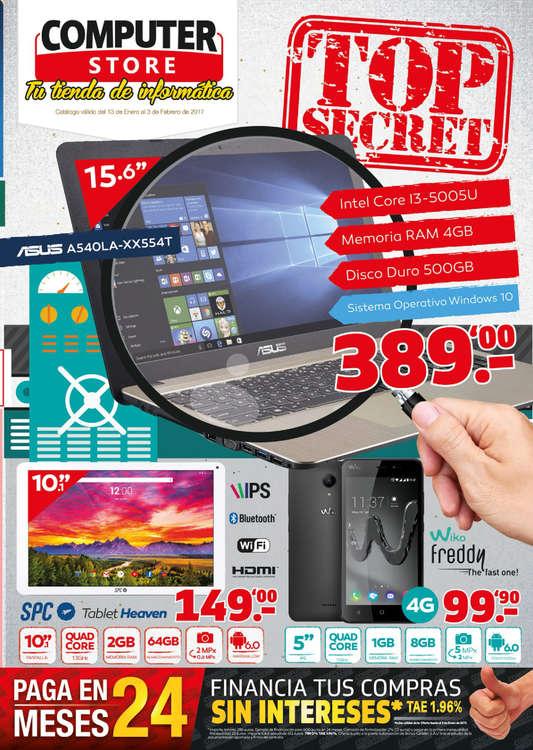 Ofertas de Computer Store, TOP SECRET
