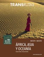 Ofertas de Transrutas, África, Asia y Oceanía