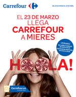 Ofertas de Carrefour, EL 23 DE MARZO LLEGA CARREFOUR A MIERES
